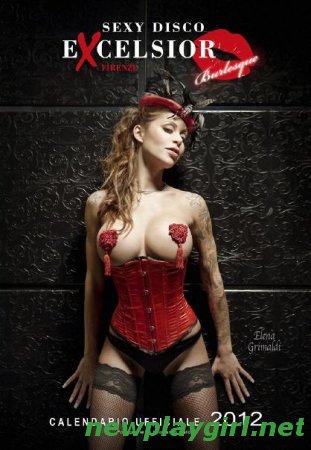 Sexy Disco Excelsior - Official Calendar 2012