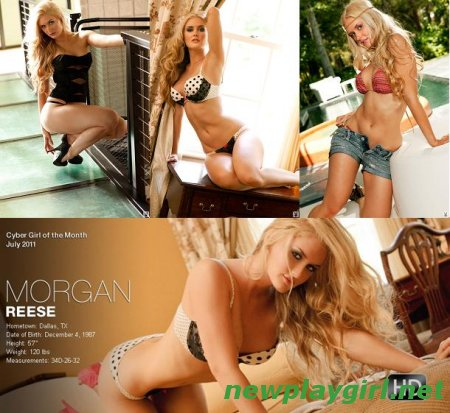 Playboy Cyber Girl - Morgan Reese 3 fotosets + 4 HD video