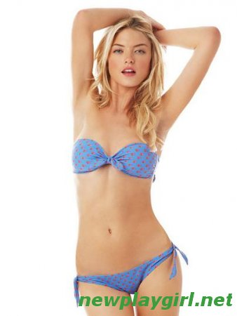 Martha Hunt - Aerie by American Eagle Outfitters Swimwear January 2012