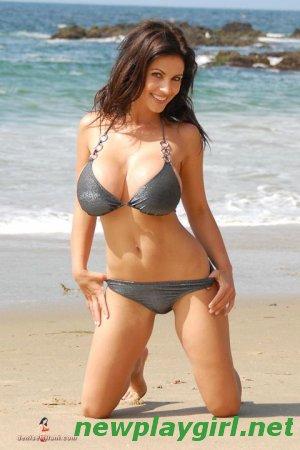 Denise Milani - Beach Silver