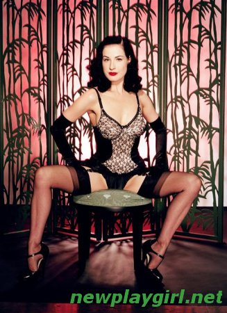 Greg Endries Photoshoot - Dita Von Teese