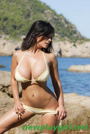 Denise Milani - Dolphin Beach