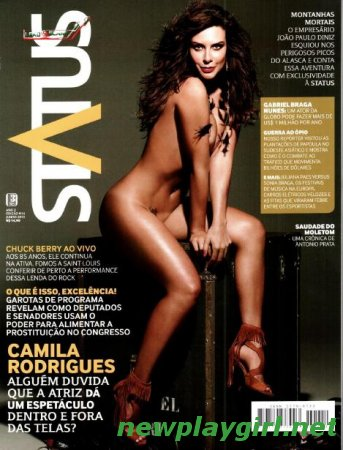 Revista Status : Camila Rodrigues - June 2012