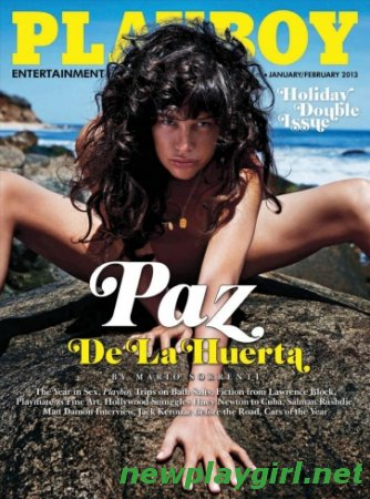 Playboy USA - January/February 2013