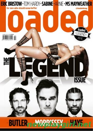 Loaded Magazine UK - February 2013