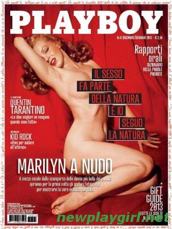 Playboy Italia - Dicembre 2012/Gennaio 2013