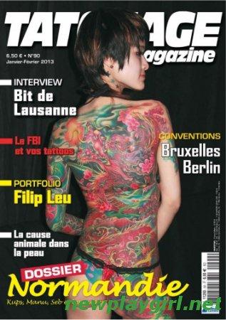 Tatouage Magazine - Janvier/Fevrier 2013