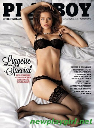 Playboy USA - March 2013
