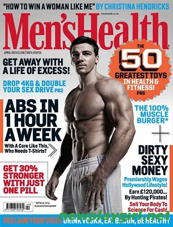 Men's Health UK - April 2013