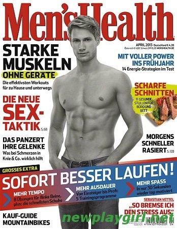 Men's Health Germany - April 2013