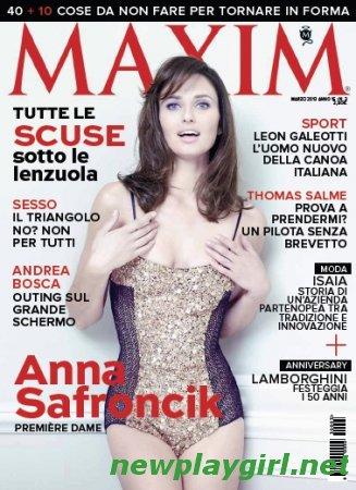 Maxim Italy - Marzo 2013