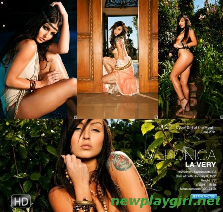 Playboy Cyber Girl - Veronica LaVery  4 fotosets + 5 HD video