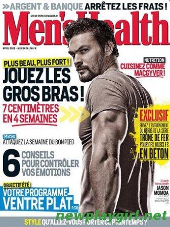 Men's Health France - Avril 2013