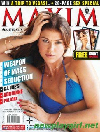 Maxim Australia - April 2013