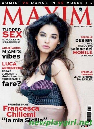 Maxim Italy - Aprile 2013