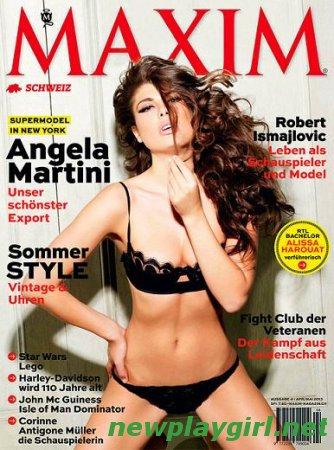 Maxim Switzerland - April/May 2013