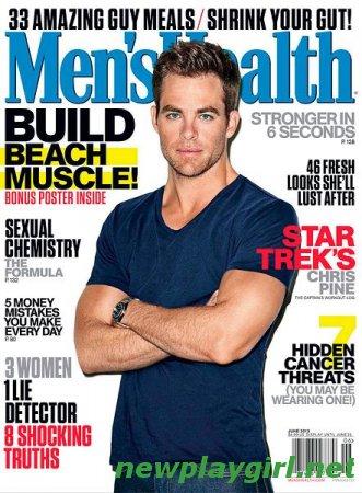 Men's Health USA - June 2013