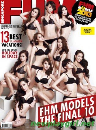 FHM Singapore - June 2013