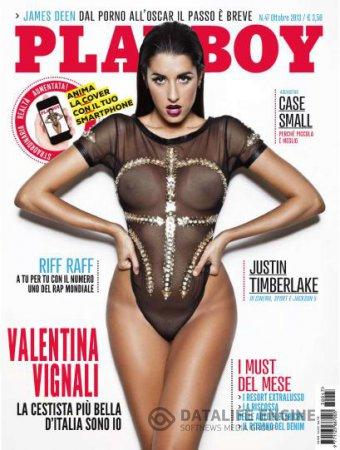 Playboy Italia - Ottobre 2013