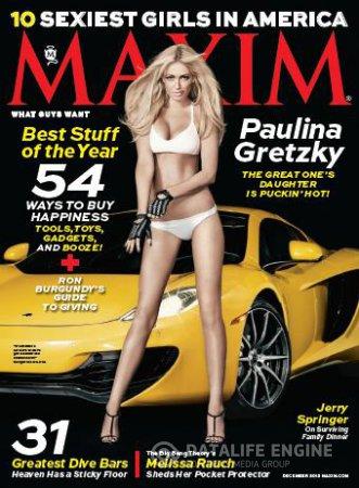 Maxim USA - December 2013