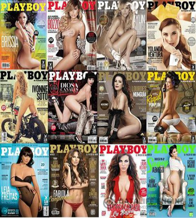 Playboy Mexico - Full Year 2013 Issues Collection