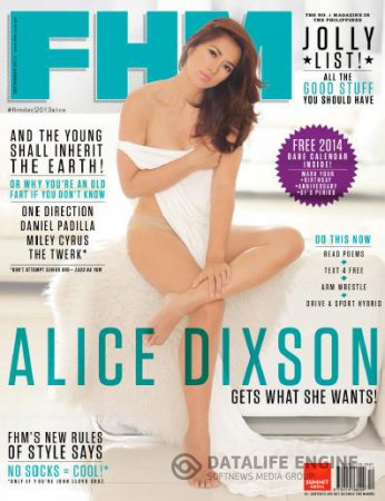 FHM Philippines - December 2013