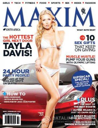 Maxim South Africa - December 2013