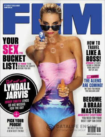 FHM South Africa - January 2014