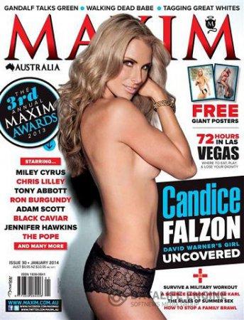 Maxim Australia - January 2014