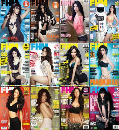 FHM India - Full Year Collection 2013