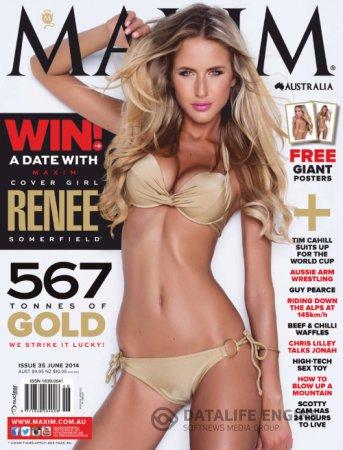 Maxim Australia - June 2014