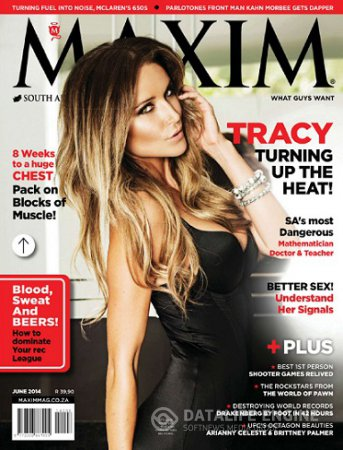 Maxim South Africa - June 2014