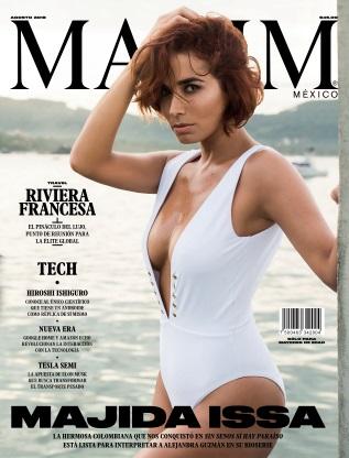 Maxim Mexico - August 2018