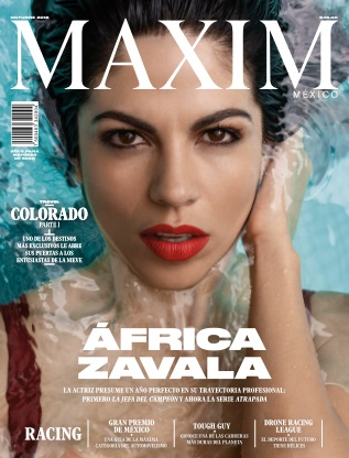 Maxim Mexico - October 2018