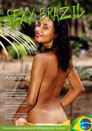 Sexy Brazil Editorial Photo Magazine – August 2018