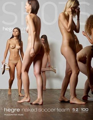 Hegre-Art - Naked Soccer Team - 2018 by Petter Hegre