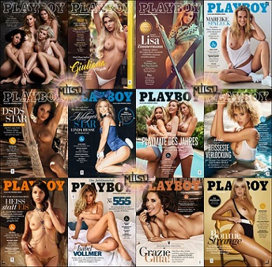 Playboy Germany - Full Year 2018 Issues Collection