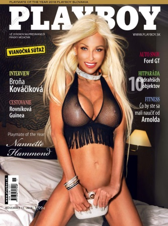 Playboy Slovakia - November 2018