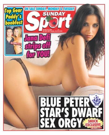 Sunday Sport – 28 October 2018