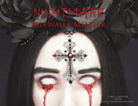 Nightmare - 2019 Wall Calendar