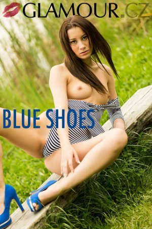 Glamour.CZ - Ingrid - Blue Shoes - 2018