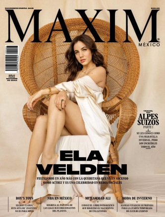 Maxim Mexico - December 2018/January 2019