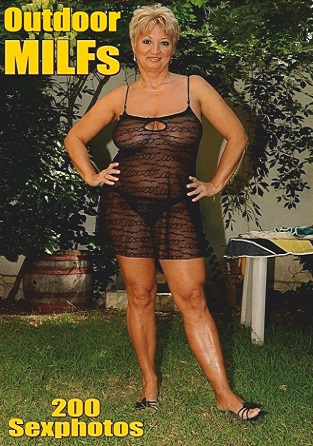 Sexy Outdoor MILFs Adult Photo Magazine - March 2019