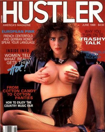 Hustler USA - June 1988