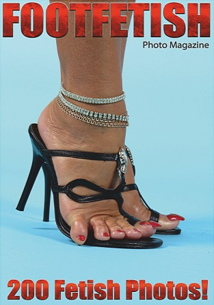 Foot Fetish Adult Photo Magazine - April 2019