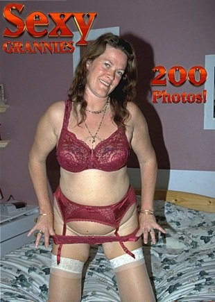 Sexy Grannies Adult Photo Magazine - April 2018