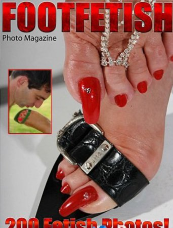 Foot Fetish Adult Photo Magazine - April 2018