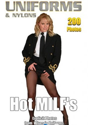 Sexy Uniform MILFs in Nylons - Volume 3