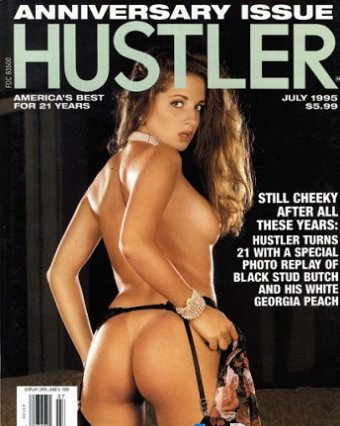 Hustler USA - July 1995
