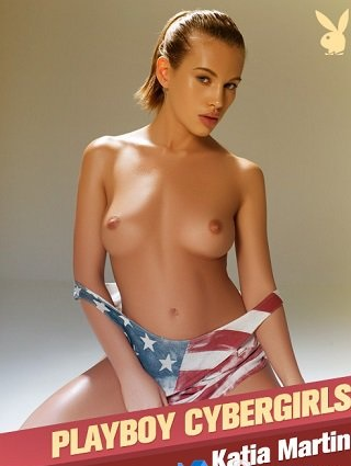 Playboy Cyber Girl - Katia Martin